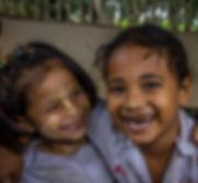 Burmese Migrant Children Laughing