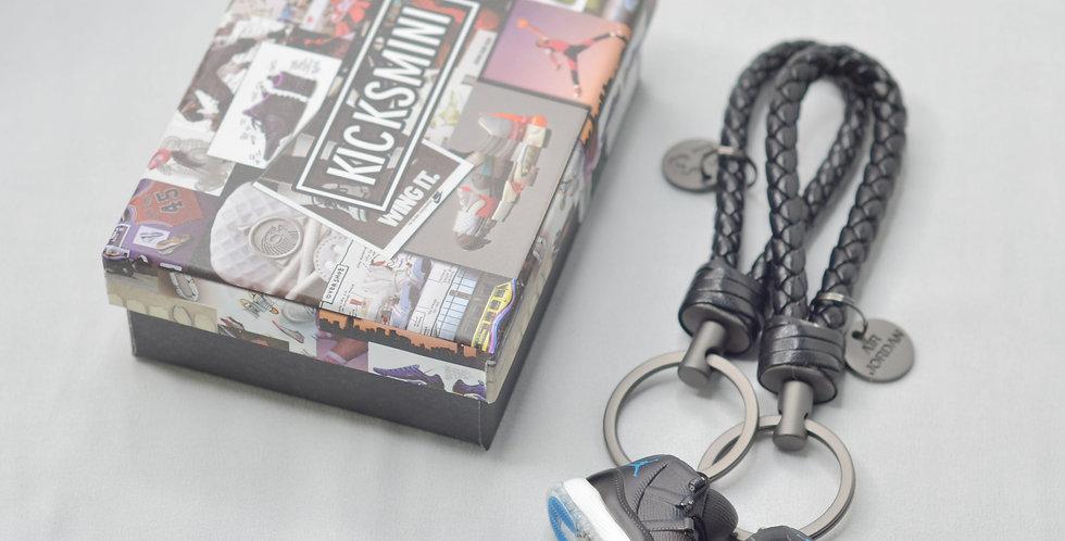 """AJ11  """"Space Jam""""  3D Sneaker Keychain"""