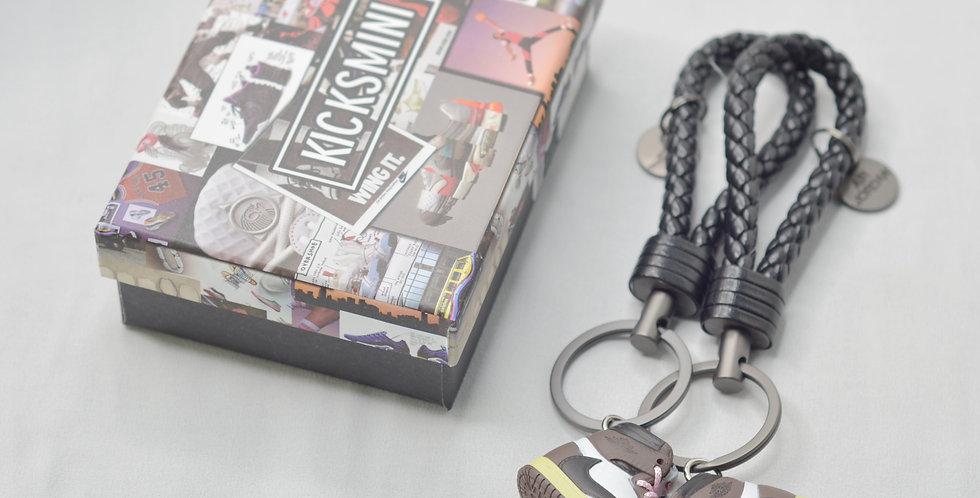 """AJ1  """"Travis Scott""""  3D Sneaker Keychain"""