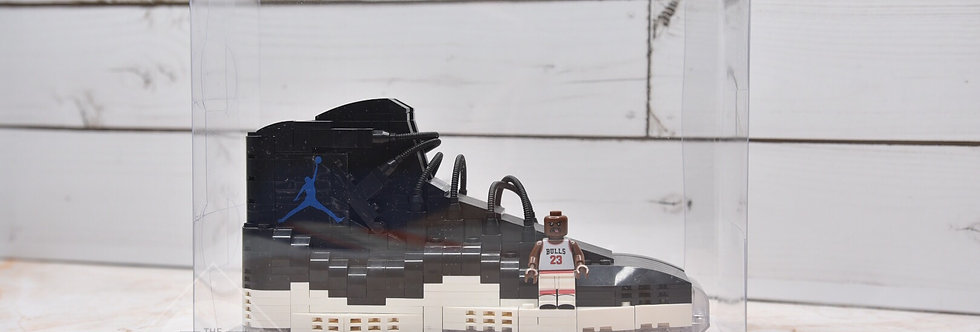 "Air Jordan 11 ""Space Jam"" LEGO Blocks With Clearly Display Box"