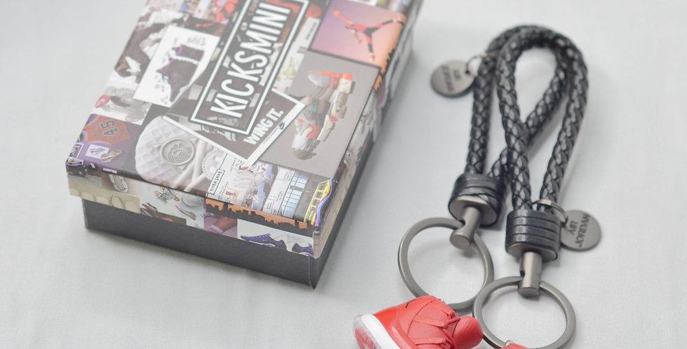 """AJ11 """"Win Like 96"""" 3D Sneaker Keychain"""