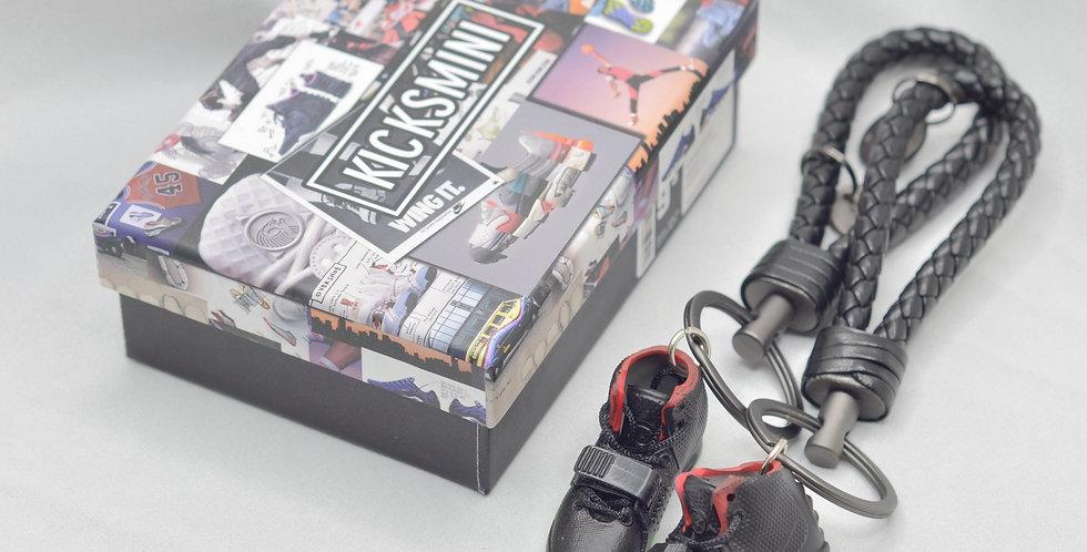 """Nike Yeezy """"Solar Red"""" 3D Sneaker Keychain"""