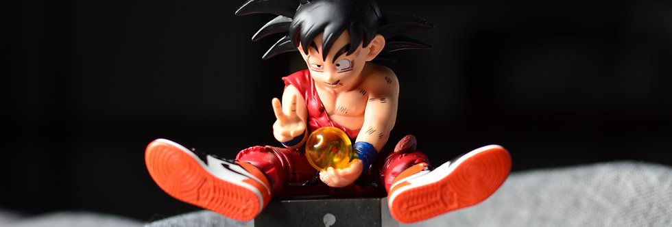 Dragon Ball Z GOKU Action Figure with Sneakers Set