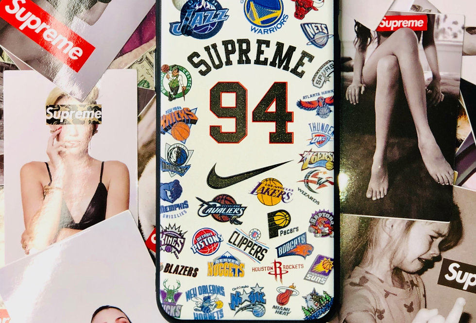 Hypebeast SUP NBA Collaboration Inspired iPhone Case