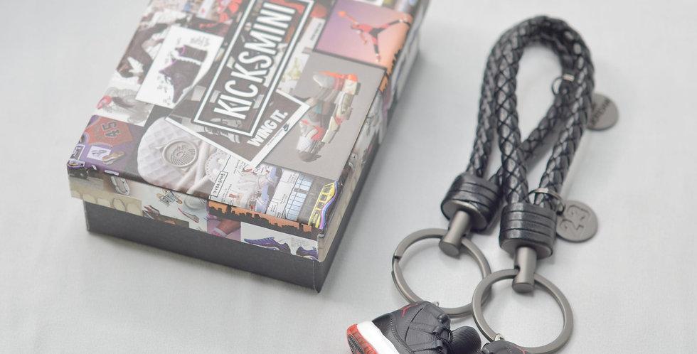 """AJ11  """"Bred""""  3D Sneaker Keychain"""