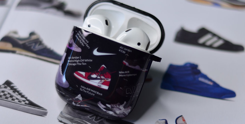 Art & Sole Inspired AirPods Silicone Soft Case