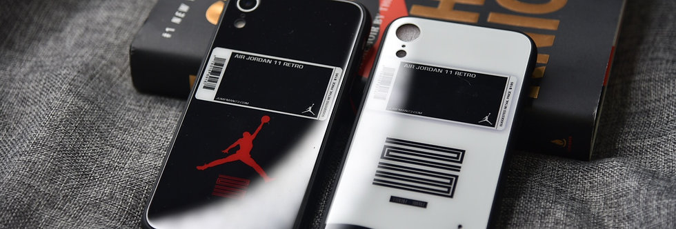 Hypebeast AJ11 Inspired Bred or Concord Sneaker iPhone Case