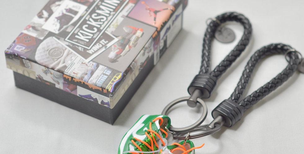 Nike Dunk Low OW Pine Green 3D Sneaker Keychain
