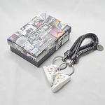 Air Force 1 Mid Sup X NBA White Keychain