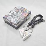 Air Force 1 Mid Sup X NBA White Keychain
