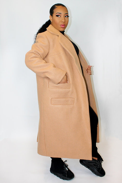 ONE PIECE ONLY 2 Pocket WOOL Coat