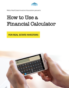 How to Use a Financial Calculator eBook.