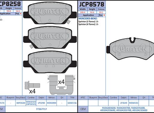 New to Range; Brake Pads (September 2020)