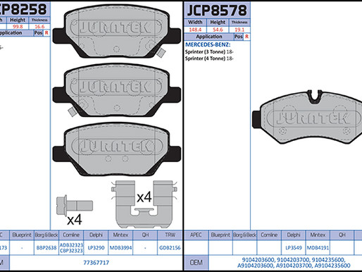 New to Range; Brake Pads (September 2020)