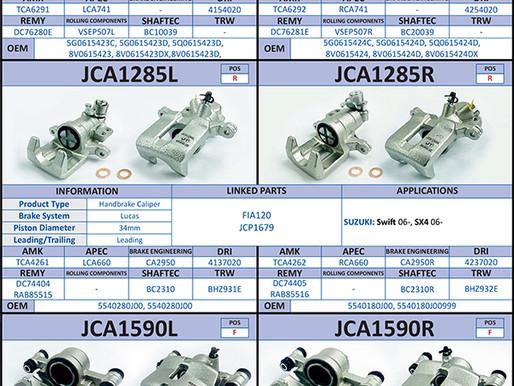 New to Range; Calipers (June 2021)