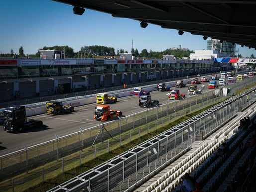 High Temperature Action at the NÜRBURGRING