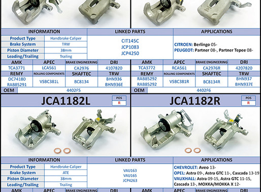 New to Range; Brake Calipers (October 2020)