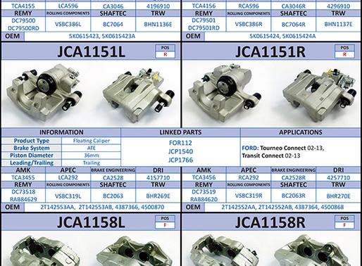 New to Range; Brake Calipers (September 2020)