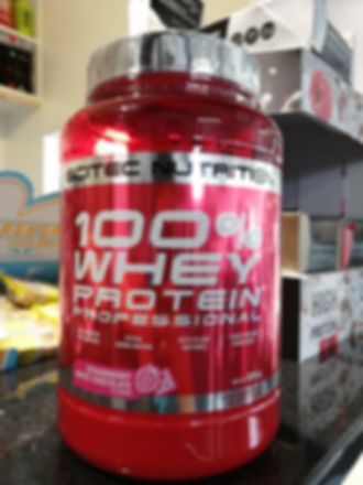 920g Scitec whey protein