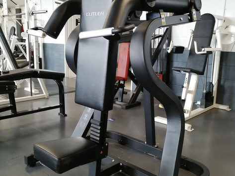 New Chest and Shoulder Machines