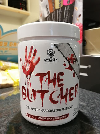 THE BUTCHER PRE WORKOUT BODYBUILDING GYM MUSCLEFACTORY