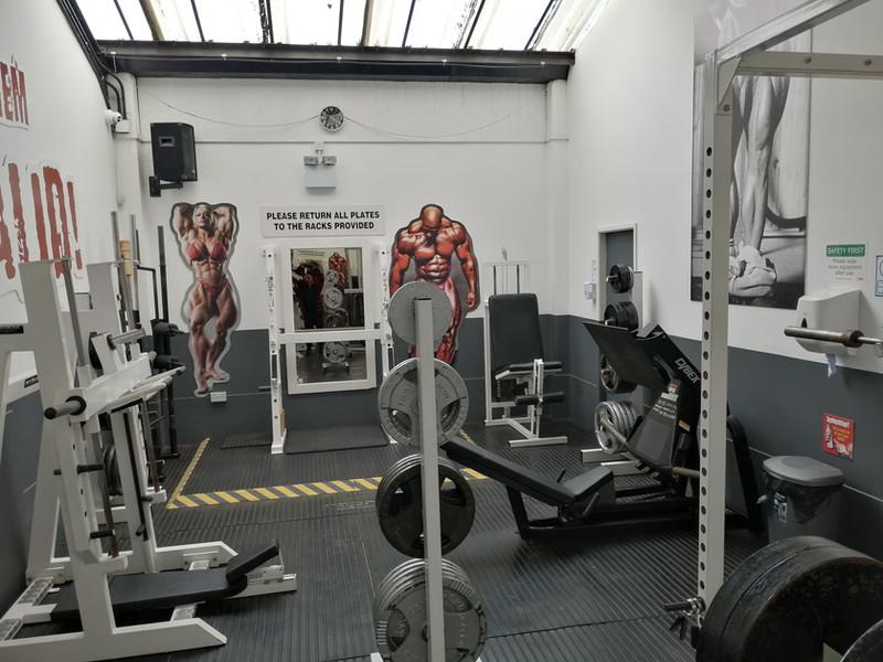 musclefactory leg room