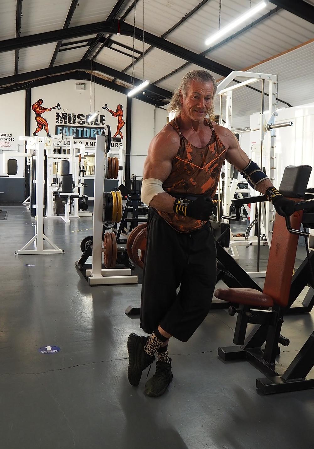 weightlifting over 60 musclefactory swinton paul xmas
