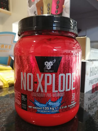 NO XPLODE PRE WORKOUT MUSCEFACTORY BODYBUILDING
