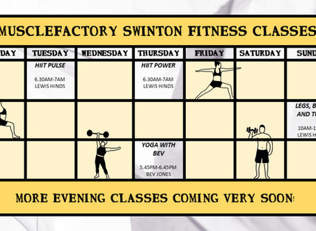 Morning Fat Burning Fitness Classes Start Next Week