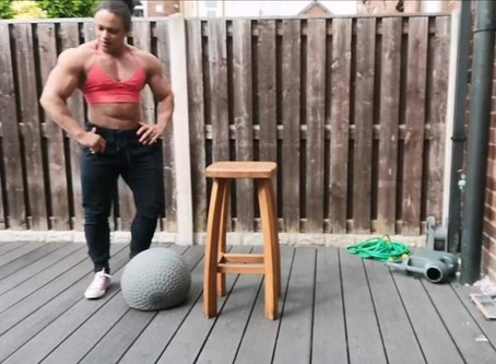 Video with New 40kg Slam Ball For Gym