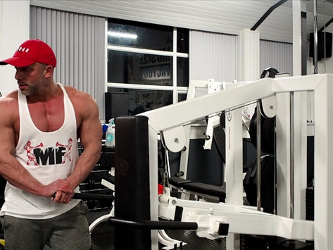 Rich Dickinson Chest and Triceps