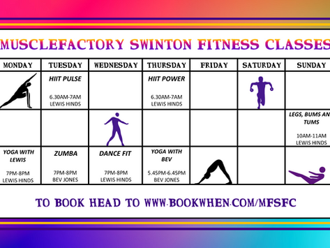More New Fitness Classes at MuscleFactory
