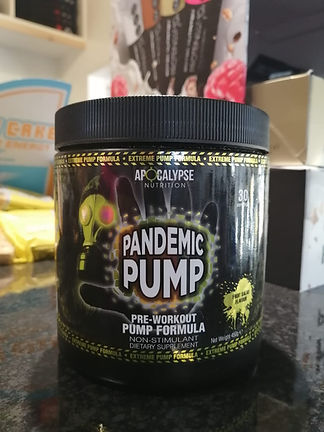 APOCALYPSE NUTRITION PANDEMIC PUMP PRE WORKOUT MUSCLEFACTORY GYM