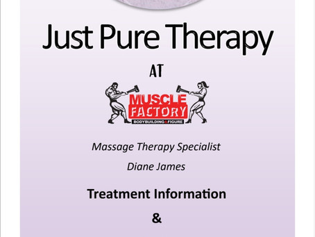 THERAPY CLINIC OPENING 20TH JANUARY 2020!!