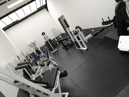 MuscleFactory Room Extension Is Complete!