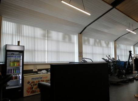 We've had blinds fitted!