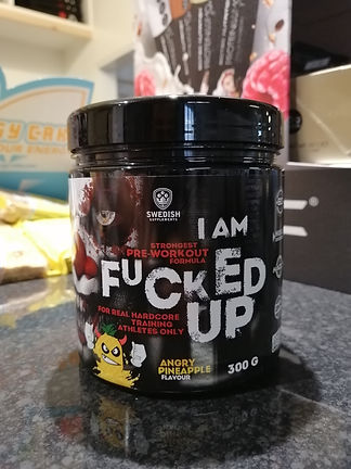 I AM FUKED UP PRE WORKOUT BODYBUILDIN GYM MUSCLEFACTORY