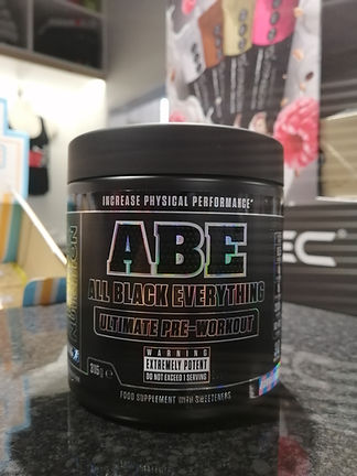 ABE PRE WORKOUT MUSCLEFACTORY BODYBUILDING GYM