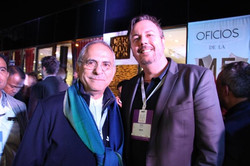 With former President of East Timor, Jose Ramos Horta
