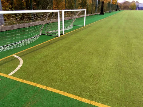hockey pitch deep cleaning