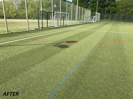 3G pitch maintenance