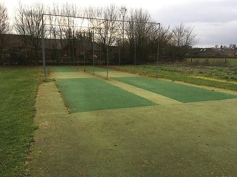cricket pitch resurfacing