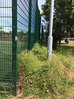 Sports pitch maintenance report