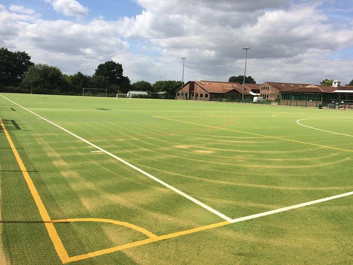 Sports pitch maintenance