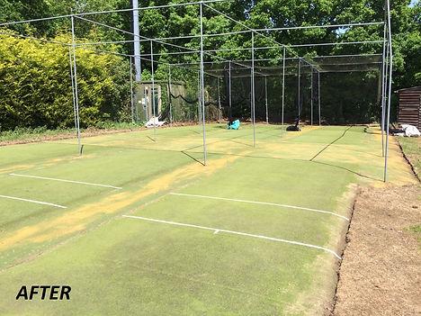 Cricket Nets Maintenance