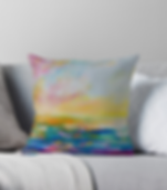 Colourful Scatter cushion