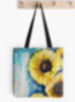 Sunflower tote bag Emily Heard