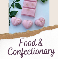Food and Confectionary Wax Melts