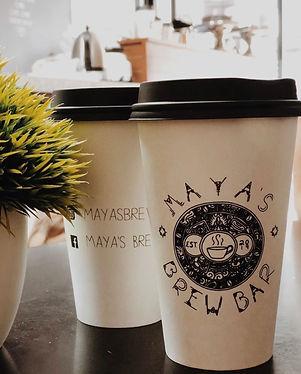 Maya's Brew Bar cafetería