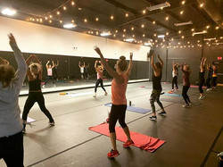 First .body class in the new studio!!!